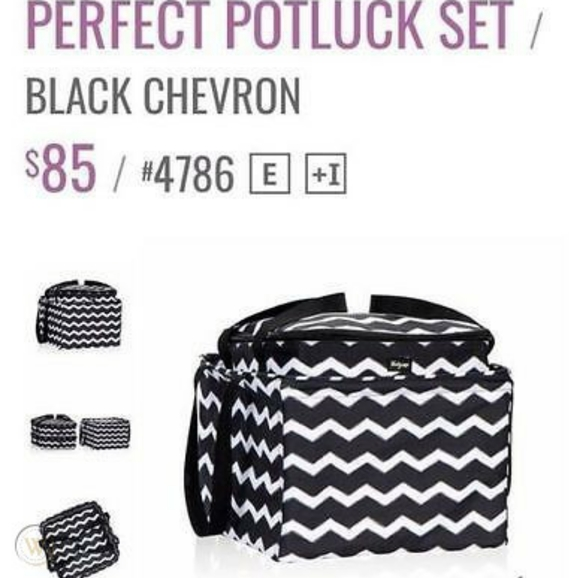 BNIB 31 bags perfect potluck thermals and tote
